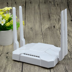 China Router branco de AC1200 Wifi, passagem home de Vpn do router do porto do gigabit - completamente fábrica
