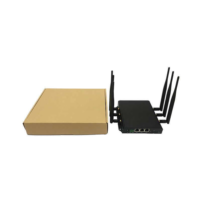 C.C. industrial personalizada 5V~36V do chipset de Qualcomm AR9344 do router de 2SIM Wifi fornecedor